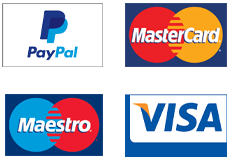 We accept various Credit Card payment